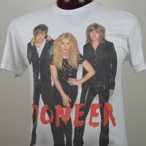 The Band Perry Pioneer Mens M White Graphic 2014 T